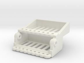Spacewheel Seat in White Natural Versatile Plastic