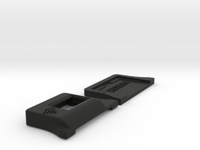 Case for WiModem with OLED Display in Black Natural Versatile Plastic