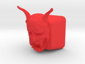 Topre Hannya in Red Processed Versatile Plastic