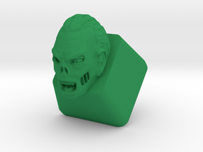 Topre Zombie Keycap in Green Strong & Flexible Polished