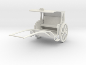 Fantasy Rickshaw  in White Strong & Flexible