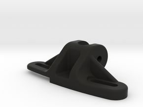 Axial SCX10 Panhard Chassis Mount in Black Natural Versatile Plastic