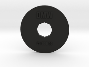Clay Extruder Die: Coil 009 02 in Black Strong & Flexible