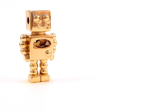 Robot Pendant in 18k Gold Plated