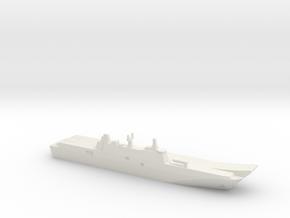 ESPS Juan Carlos I (L61), 1/2400 in White Natural Versatile Plastic