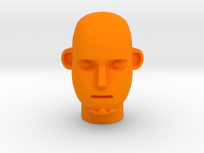 Break Head in Orange Processed Versatile Plastic