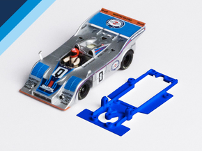 1/32 Fly Porsche 917/10 Chassis for Slot.it pod in White Natural Versatile Plastic