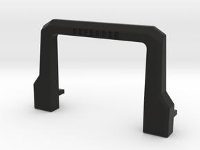Soft bull bar D90 D110 1:10 in Black Natural Versatile Plastic