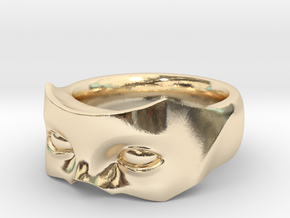 VillainRing Size 9.5 in 14K Yellow Gold