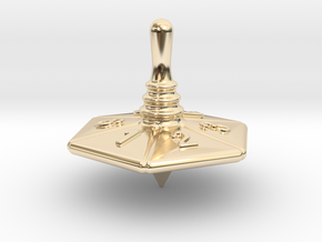 Spinning Top in 14K Yellow Gold