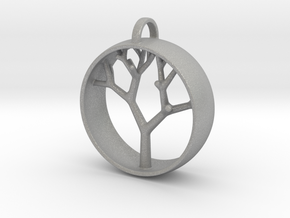 Natural Collection - Tree Pendant in Aluminum
