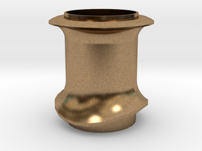 24 Chimney 1:24 whole in Natural Brass