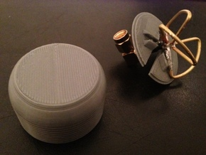 5.8gHz Cloverleaf/Skewplane Case for 4 Lobe in White Natural Versatile Plastic