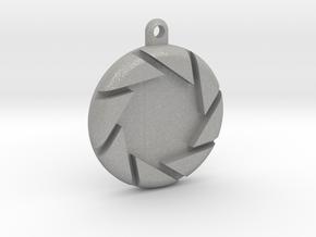 Aperture Pendant in Aluminum