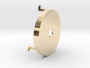 Technics SL-L20(k) TurnTable 45 RPM Adapter in 14K Yellow Gold