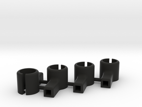 8.5mm Motor Mount Group in Black Natural Versatile Plastic