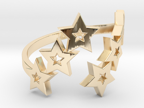 Ring Star 1011 in 14K Yellow Gold