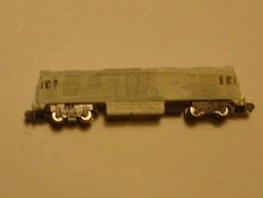 BR Class 24 Late or Early Class 25 - T - 1:450 in Smooth Fine Detail Plastic