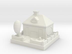 Building 1 in White Natural Versatile Plastic