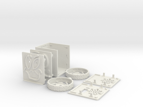 MiniFloppyBot KIT in White Natural Versatile Plastic
