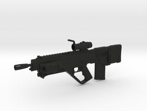 Lyudmilad Rifle (1:6 Scale) in Black Natural Versatile Plastic