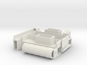 28-J mission - closed MESA in White Natural Versatile Plastic