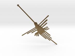 Nazca: The Humming Bird [V2.0] in Natural Bronze