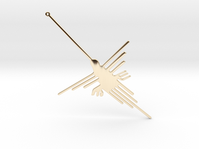 Nazca: The Humming Bird [V2.0] in 14K Yellow Gold