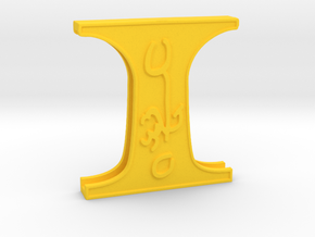 Doctor Strange: Belt clamp 1 in Yellow Processed Versatile Plastic