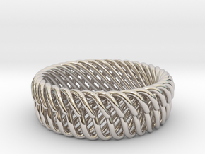 Bracelets in Rhodium Plated Brass