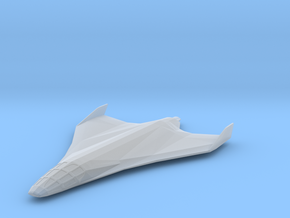 Eclipse-Class Shuttle in Smooth Fine Detail Plastic