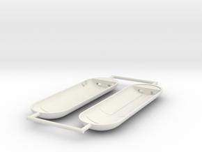 Star Trek no interior 9cm photon torpedo in White Natural Versatile Plastic