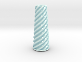 DRAW vase - C ceramic in Gloss Celadon Green Porcelain