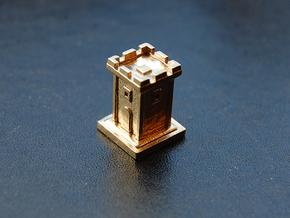 Tiny Tower in Raw Brass