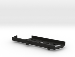 Long Battery Tray for SCX10 II in Black Natural Versatile Plastic