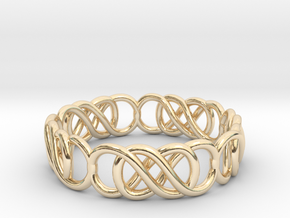 jewelry 16.9mm in 14k Gold Plated Brass