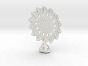 Necklace in White Natural Versatile Plastic