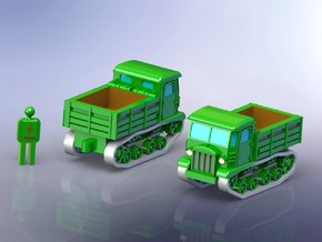 Russian STZ-5 Full Tracked Tractor 1/285 6mm in Frosted Ultra Detail