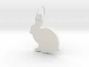 Creator Pendant in White Natural Versatile Plastic