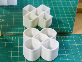 Ambiguous Cylinders : Five Rings in White Strong & Flexible