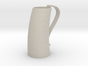 Game of Thrones Horn Mug in Natural Sandstone