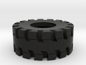 Tire for trailer load in Black Natural Versatile Plastic