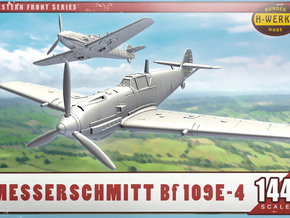1/144th - Messerschmitt me.109E-4 in Frosted Ultra Detail