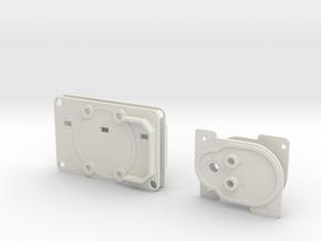 ROTJ EE-3 Stock Greeblies in White Natural Versatile Plastic