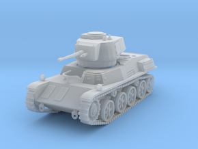 PV124B 38M Toldi III Light Tank (1/100) in Smooth Fine Detail Plastic