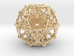 Ultra Penta Sphere in 14K Yellow Gold