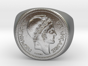 10 Francs 1949  in Raw Silver