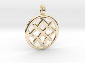 EIGHTH KNIGHT in 14K Yellow Gold