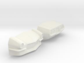 1/8 Special Cut 73 PM Camaro in White Natural Versatile Plastic