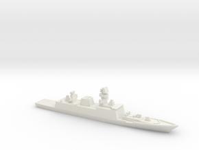 Shivalik-class frigate, 1/2400 in White Natural Versatile Plastic